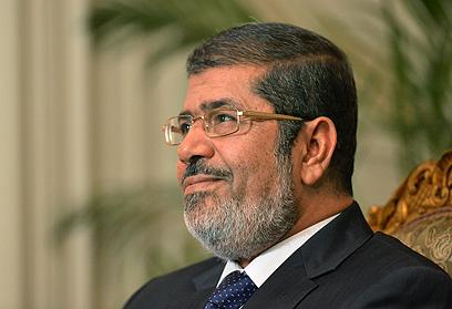 נשיא מצרים מוחמד מורסי (צילום: AFP)