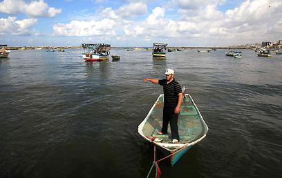 בישראל אישרו כי הקלו על הדייגים (צילום: AFP)