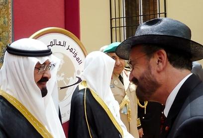 """""""במהלך הפגישה דיבר המלך עבדאללה בחום על התורה ועל ייעודה"""". הרב דוד רוזן"""