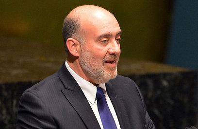 """השגריר פרושאור: """"אבו מאזן מעוות את ההיסטוריה"""" (צילום: AFP)"""
