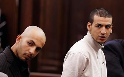 פרחאני וממדוח בבית המשפט (צילום: gettyimages)