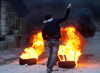 התסיסה ברחוב הפלסטיני אמיתית (צילום: EPA)