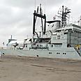 Iranian ships in Sudan Photo: AFP