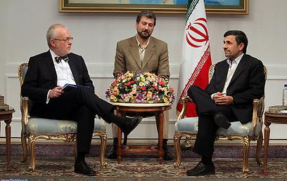נשיא איראן לא הבליג