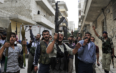 Syrian rebels in Aleppo (Photo: AFP)