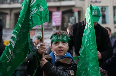 גם ילדים השתתפו בעצרת (צילום: אוהד צויגנברג )