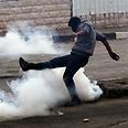 Day of riots in Hebron Photo: EPA