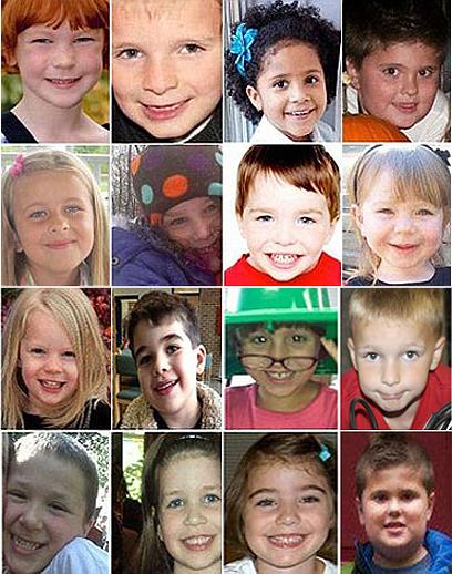 16 מתוך 20 הילדים שנרצחו