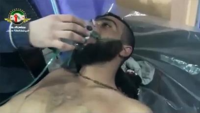 אחד הנפגעים משאיפת הגז בחומס
