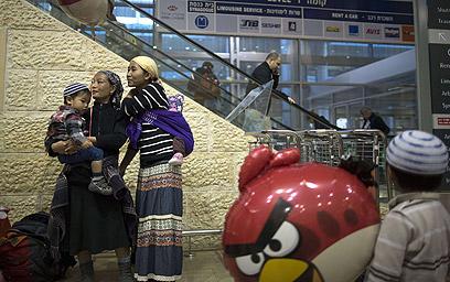"""""""תחושה שהאחים האובדים שלנו חוזרים הביתה"""" (צילום: AFP)"""