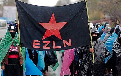 EZLN march in Chiapas (Photo: AFP)