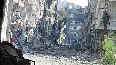 160 הרוגים בסוריה ב-31 בדצמבר 2012. דראיה (צילום: רויטרס)