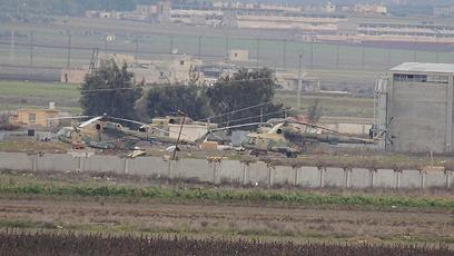 בסיס המסוקים הגדול ביותר בצפון סוריה (צילום: רויטרס)