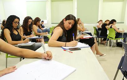 רוב מוחץ במכללות לחינוך (ארכיון) (צילום: משה שי)