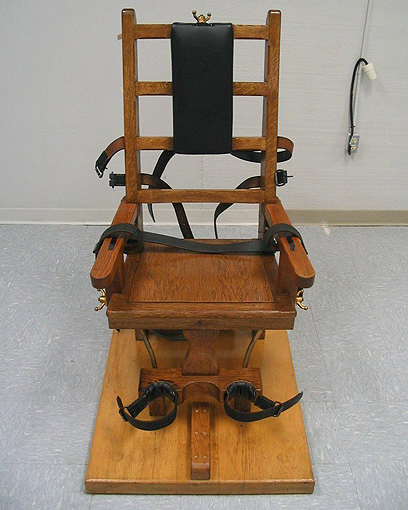 """בארה""""ב מוציאים להורג בכיסא חשמלי (צילום: AP)"""