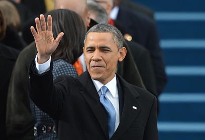 """אובמה. רוצה לעזור לאיראן """"לרדת מהעץ"""" (צילום: AFP)"""