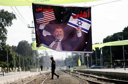 ישראל שוב משתרבבת לסכסוך מצרי פנימי (צילום: AFP)