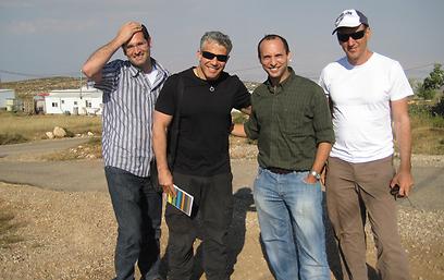 יש עתיד לבית היהודי? לפיד ובנט בפגישתם ב-2010 (צילום: דוברות בנימין)