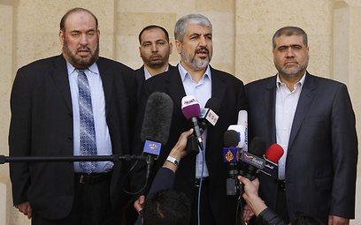 ראש הלשכה המדינית של חמאס בירדן (צילום: EPA)