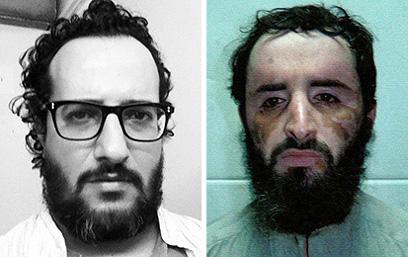 מצאו את ההבדלים: אבו פראג' אל-ליבי ויואב לוי (צילום: רויטרס)