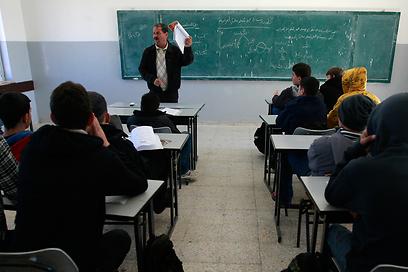ועדה מדעית מייעצת בדקה את הממצאים. שיעור בבית ספר ברמאללה (צילום: AP)
