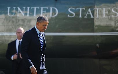 אובמה, היום. בבית הלבן לא מטפחים ציפיות מוגזמות (צילום: AFP)
