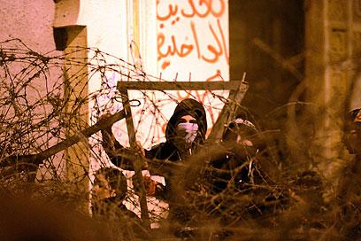 מפגינים בקהיר (צילום: AFP)