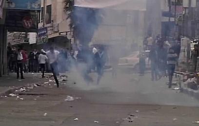 העימותים בחברון, היום (צילום: רויטרס)
