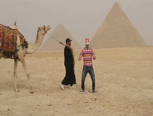 News - 4 arrested in Egypt for 'Harlem Shake'
