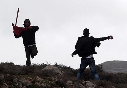 יום אלים באזור קוסרא  (צילום: AFP)