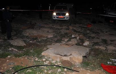 הבאר שבה נמצאה גופת הנערה (צילום: ישראל יוסף)