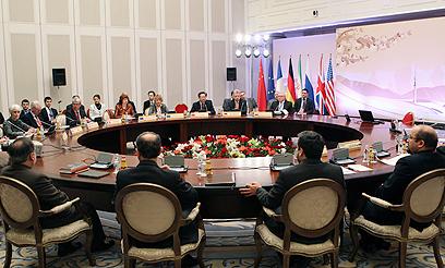 שיחות הגרעין עם איראן בחודש שעבר (צילום: רויטרס)