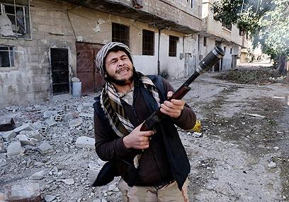 המורדים בסוריה צפויים לקבל סיוע מהדוד סם (צילום: רויטרס)