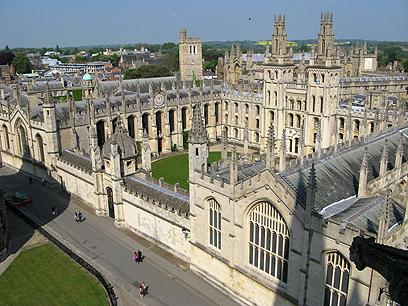 """לומדים בחו""""ל, שם יש גם עבודה. אוניברסיטת אוקספורד (צילום: shutterstock)"""