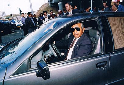 הסיע את ראש הממשלה במשך כרבע מאה