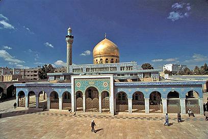 מסגד סיידה זיינב השיעי בדרום דמשק