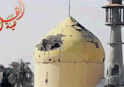 פגיעה במסגד שיעי בפרברי דמשק