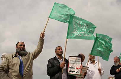 לא לביקור אובמה באל-אקצא. ההפגנה בתל-אביב, היום (צילום: עידו ארז)