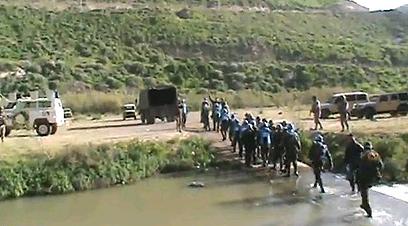 """פקחי האו""""ם מועברים לירדן"""