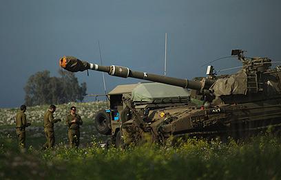 """צה""""ל עשה שוב שימוש בטיל """"תמוז"""" (ארכיון) (צילום: EPA)"""