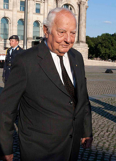 """פון קלייסט ב-2010. ייסד את """"כנס מינכן"""" ועמד בראשו (צילום: AP)"""