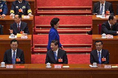 מקור הדאגה הראשי - סין. תחרות הולכת וגוברת ממזרח (צילום: AP)