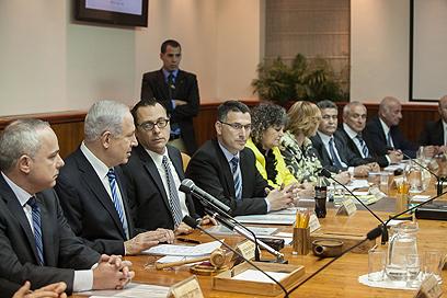 ישיבה ראשונה. הממשלה ה-33 (צילום: אוהד צויגנברג)