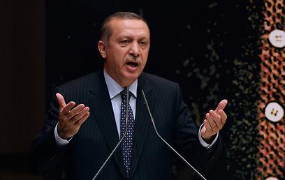 ראש ממשלת טורקיה. פיוס על תנאי (צילום: רויטרס)