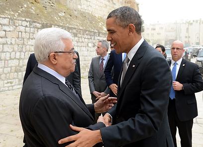 רק 2% סברו שביקור אובמה באזור תרם לפלסטינים (צילום: MCT)