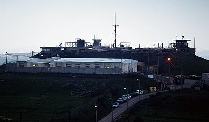 בית חולים צבאי בגולן (צילום: AFP)