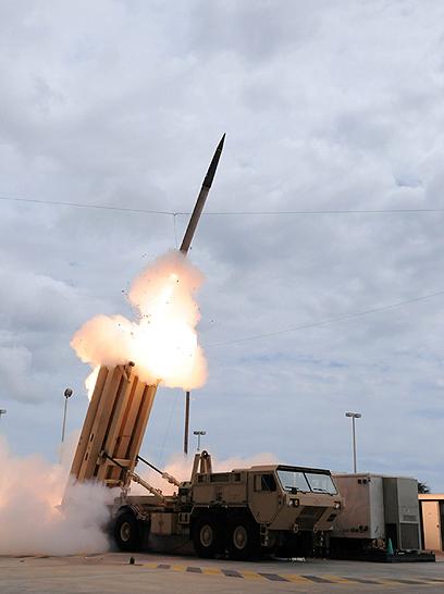 מערכת THAAD. תגן על הטריטוריה האמריקנית בגואם (צילום: AFP)