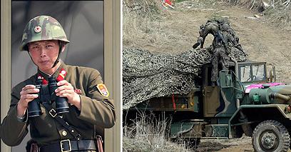 נערכים. צפון קוריאה (צילום: AP)