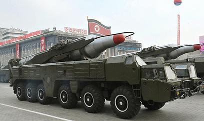 טיל מוסודאן. הקוריאנים ישגרו אותו בקרוב? (צילום: EPA)