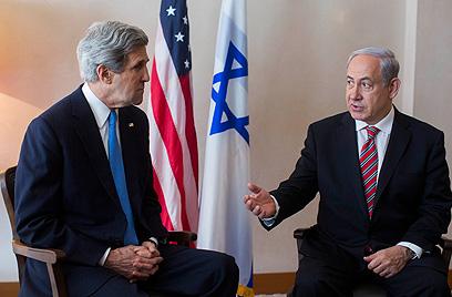 ארצות הברית מנסה לקדם את היחסים בין המדינות (צילום: יונתן זינדל/פלאש90)